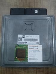 Resim 03L906023CT 03L907425C 5WP42631AA PCR2.1 VW CADDY 1.6 CAYE MOTOR BEYNİ