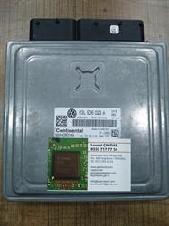 Resim 03L990990T 03L906023A 5WP42801AA PCR2.1 VW GOLF CAYB MOTOR BEYNİ